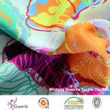 Напечатанная ткань Cdc (Creape de Китая) для платья или одежды