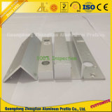 Profil de CNC en aluminium extrudé avec, le forage de perforation, pliage, le fraisage