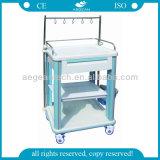 AG-It006b1 carros luxuosos médicos da infusão do tratamento do ABS IV