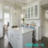 2019 Hampton blanc mat des armoires de cuisine
