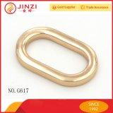 Personalizar o anel oval de metal de alto nível para as bolsas