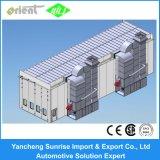 cabine de pulverizador industrial longa de 17m grande