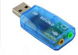 Transparent Carte son USB externe lecteur de Carte son USB5.1 gratuit