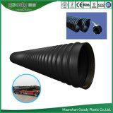 Стальная полоса трубопровода питания/Усиленная PE композитный спираль гофрированную трубу