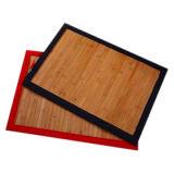 De met de hand gemaakte Matten van de Lijst Placemats van het Bamboe Houten