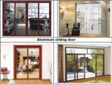 Guichet en aluminium et en bois de tissu pour rideaux de Composit