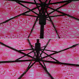 3 ثني يدور يدويّة مظلة سيادة [فولدينغ] [أومبرلّا] ([جف-مإكسز301])