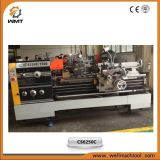 CS6250 Heavy Duty Precision Gap Lathe Machinery com suporte rígido