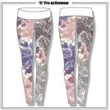 Calças secas da ioga do desgaste do esporte do desgaste da ginástica da ioga das mulheres do ajuste