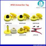 RFIDの家畜マネージャのための再使用可能な動物の耳札