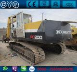 Verwendeter ursprünglicher KOMATSU-Exkavator PC200-5 für Verkauf