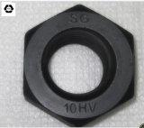 DIN6915 Kohlenstoffstahl-Sechskantmutter/strukturelle Muttern mit Schwarzem