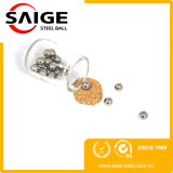 Buena calidad de plomo tornillo 1/8 de pulgada Chrome bolas de acero
