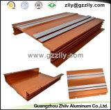 Disipadores de calor anaranjados del perfil de la fundición de aluminio del coche del color