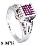 Nieuwe Juwelen 925 van de Manier van het Ontwerp de Zilveren Levering voor doorverkoop van de Ring