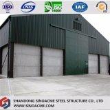 Construction préfabriquée élevée d'atelier de structure métallique