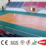 Pavimento multifunzionale verde dell'interno del vinile di alta qualità per pallavolo 6.5mm