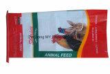 Nach Maß BOPP lamellierter Tiergesponnener Beutel der nahrung25kg pp.