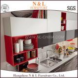 現代高い光沢のある食器棚