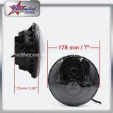 Farol de LED de 7 polegadas para Jeep Wrangler Motociclo Hummer 45W