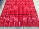 Matériaux de construction du pavillon de la feuille de fer galvanisé machine à profiler de ligne de production