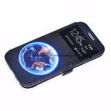 Samsung S7/S7edgeのためのOEM PUの革プリント可動装置か携帯電話の箱