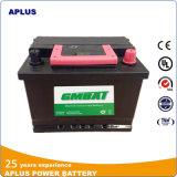Baixo MOQ 55531 12V55ah DIN55 sem manutenção tipo bateria do carro