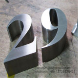 Lettere della Manica di inverso dell'acciaio inossidabile