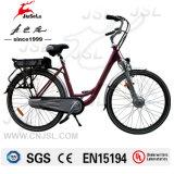 Бесщеточный двигатель 36V литиевые батареи красный электрический город Bike (JSL036A-7)