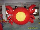 屋外広告の膨脹可能な飛行のパンダくま動物の気球