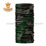 Bandana elastico su ordinazione poco costoso del tubo del collo del poliestere di sport di vendita calda