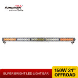 30inchこはく色棒150W高い発電熱い単一LEDのライトバー