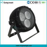 Lampada di PARITÀ dello zoom LED di alto potere 3*60W RGBW per la fase