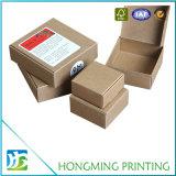 Différentes tailles Boîte en carton ondulé marron bon marché