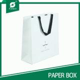 Sacchetti su ordine riciclati del regalo del Libro Bianco