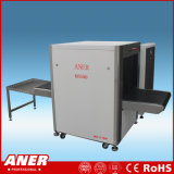 El equipaje del aeropuerto de la estación de metro de la máquina de radiografía del examen del bagaje transporta estándares internacionales del explorador K6550 de la seguridad de la correa