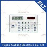 Nombre de 8 dígitos calculadora del tamaño de la tarjeta (BT-107).