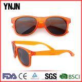 Occhiali da sole di plastica variopinti di buona qualità di Ynjn per gli uomini (YJ-S046)