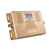 répéteur mobile à deux bandes de signal de téléphone cellulaire de la servocommande 850/1900MHz de signal de 2g 3G