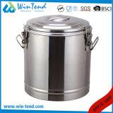 Heet Economisch Type 3 van Roestvrij staal van de Verkoop Container van het Voedsel van de Gesp de Draagbare Geïsoleerdez Schuimende voor Vervoer