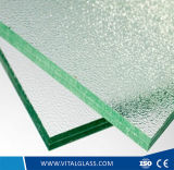Vidrio laminado templado espesor modificado para requisitos particulares con los bordes Polished