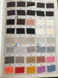 도매 공단 실크 직물. 폴리에스테 공단 직물, 공단 복장 직물 (색깔 도표 4)