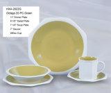Insieme di pranzo di ceramica di figura di Octago del PC 20