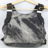Помытый Backpack джинсыов для вспомогательного оборудования способа Backpack холстины отдыха женщин