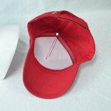 Custom красный хлопка спорта бейсбол в 3D с логотипом