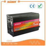 Inversor del coche de Suoer 1500W 12V 220V con el cargador (HAD-1500C)