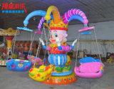 Macchina girante del gioco di giro del Kiddie della presidenza di volo del parco di divertimenti con 6 sedi
