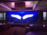 정면 후방 실내 옥외를 위한 접근에 의하여 구부려지는 풀 컬러 LED 영상 벽 (P3, P4, P5, P6)