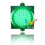 Nuevo diseño de tres colores LED parpadeante de la señal de la luz de Tráfico