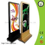 Caixa de luz publicitária de plexiglás livre de LED